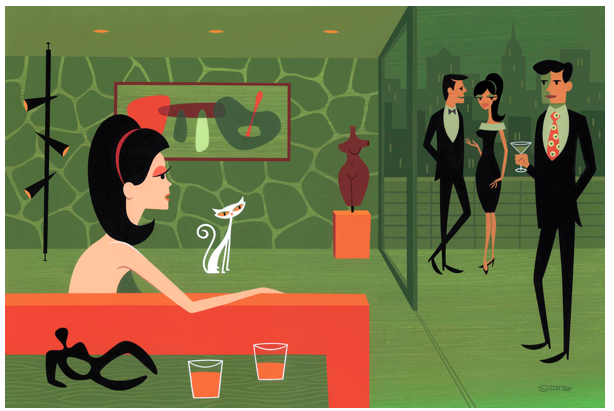 "Opening: Josh Agle (Shag) ""Thursday's Girl"" @ Jonathan LeVine Gallery, NYC: Screen shot 2013-04-06 at 10.27.06 PM.png"