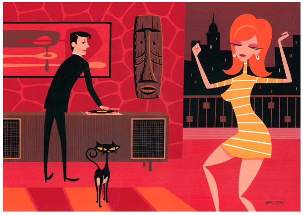 "Opening: Josh Agle (Shag) ""Thursday's Girl"" @ Jonathan LeVine Gallery, NYC: Screen shot 2013-04-06 at 10.27.22 PM.png"