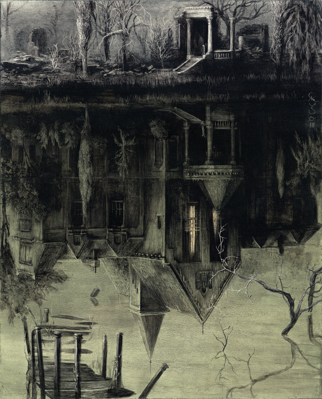 Chilling Works by Santiago Caruso: santiago4.jpg