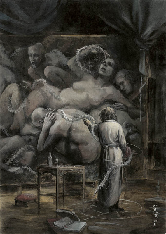 Chilling Works by Santiago Caruso: santiago5.jpg