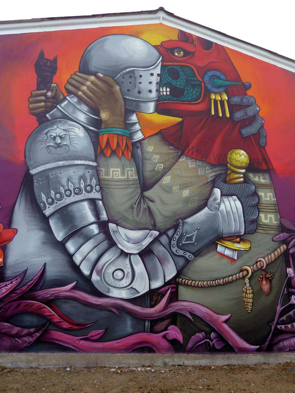 """The Conquest Of The New World By Spanish Conquistadors"" by Saner: jux_saner2.jpg"
