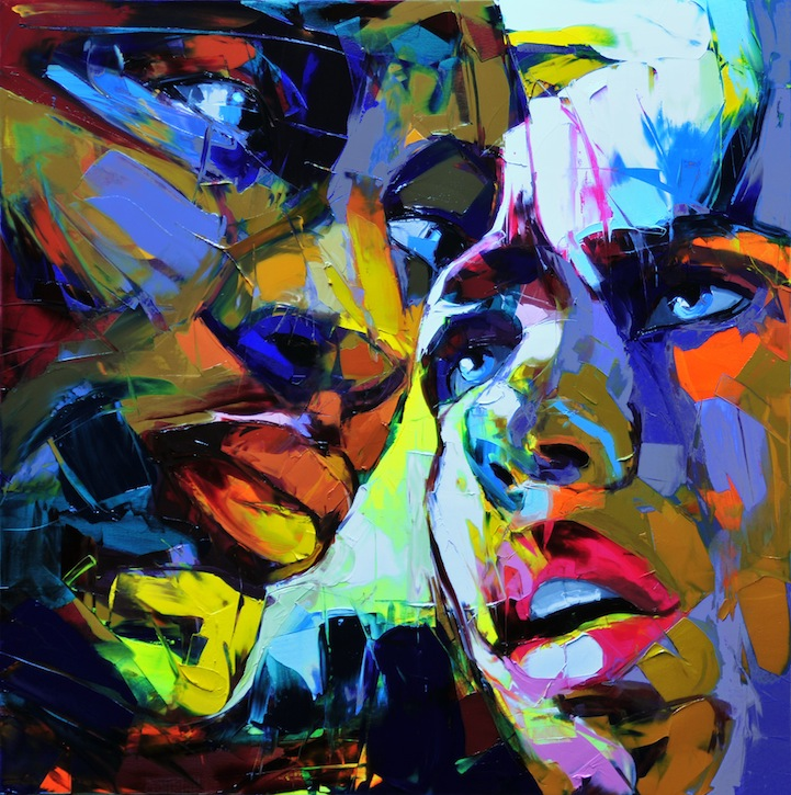 Vibrant Palette Knife Paintings by Françoise Nielly: francoisniellypaintings10.jpg