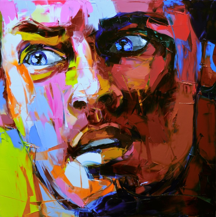 Vibrant Palette Knife Paintings by Françoise Nielly: francoisniellypaintings11.jpg