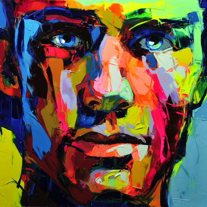 Vibrant Palette Knife Paintings by Françoise Nielly: francoisniellypaintings3.jpg