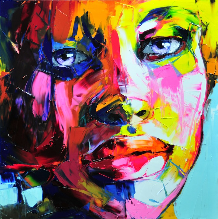 Vibrant Palette Knife Paintings by Françoise Nielly: francoisniellypaintings4.jpg