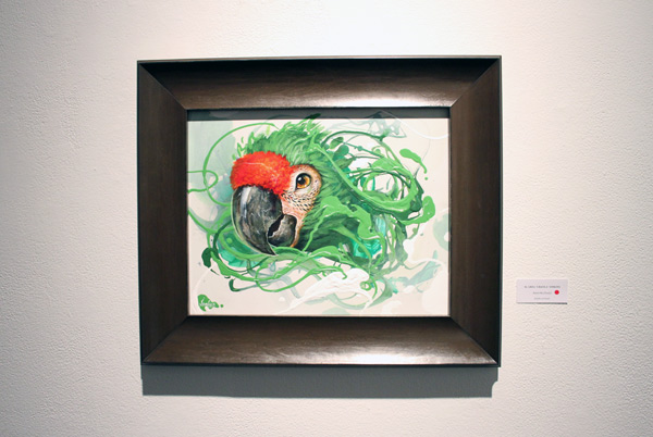 In L.A.: Greg 'Craola' Simkins @ Merry Karnowsky Gallery: craola_4410.jpg