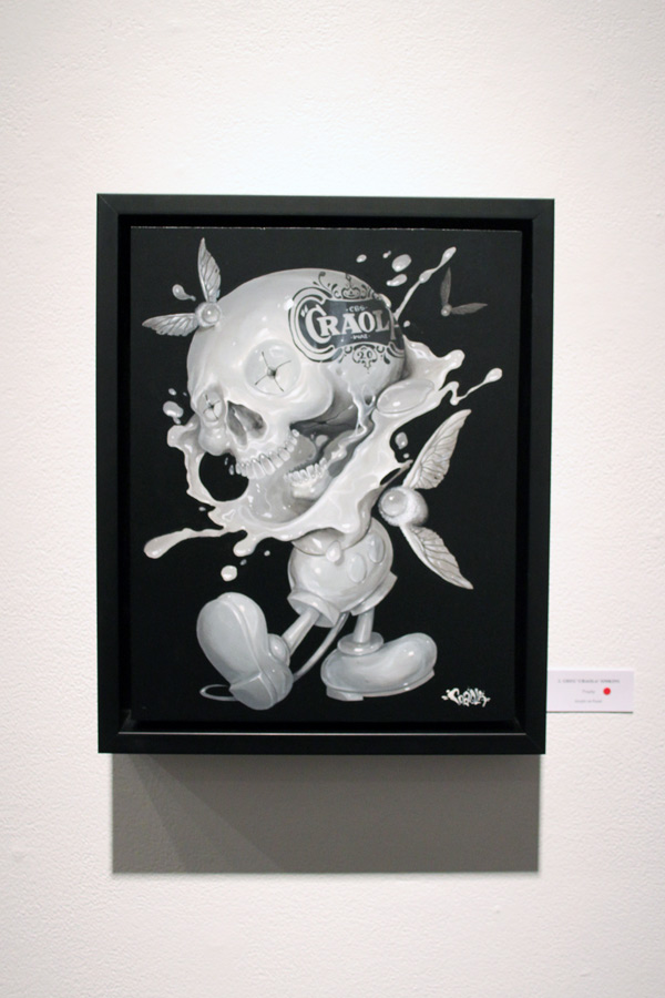 In L.A.: Greg 'Craola' Simkins @ Merry Karnowsky Gallery: craola_4414.jpg