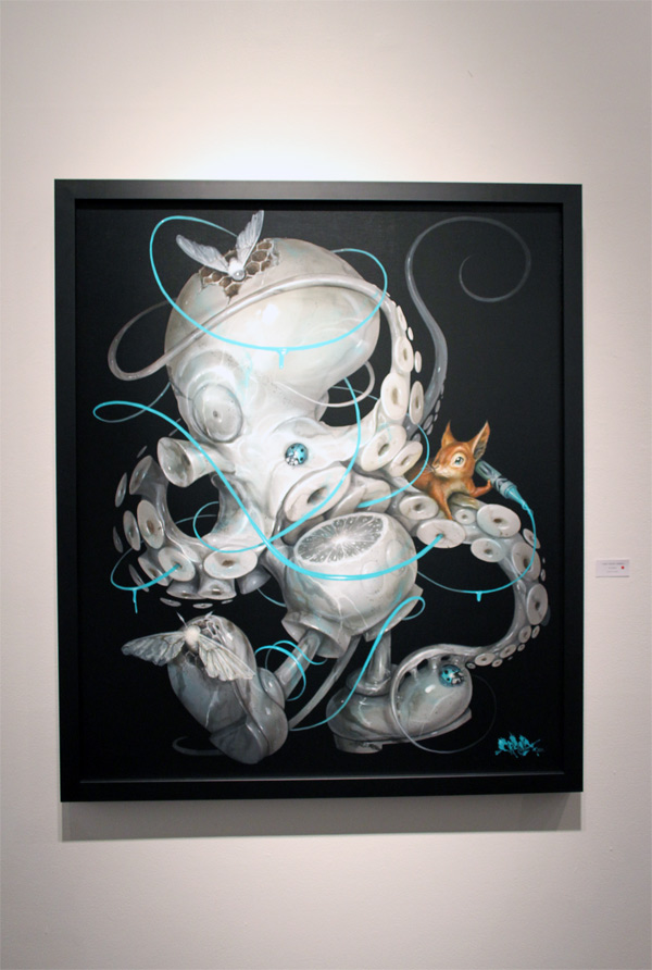 In L.A.: Greg 'Craola' Simkins @ Merry Karnowsky Gallery: craola_4428.jpg