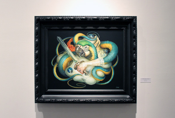 In L.A.: Greg 'Craola' Simkins @ Merry Karnowsky Gallery: craola_4437.jpg
