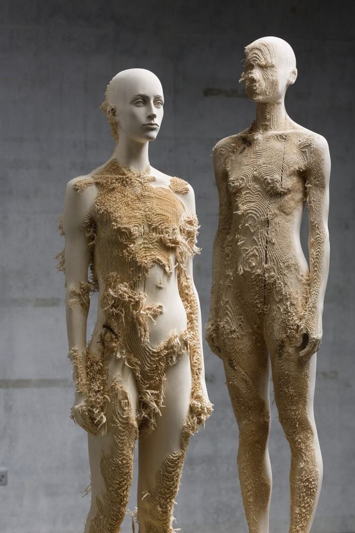 Incredible Wood Carvings by Sculptors Aron Demetz and Shan Hur: Aron_Demetz03.jpeg