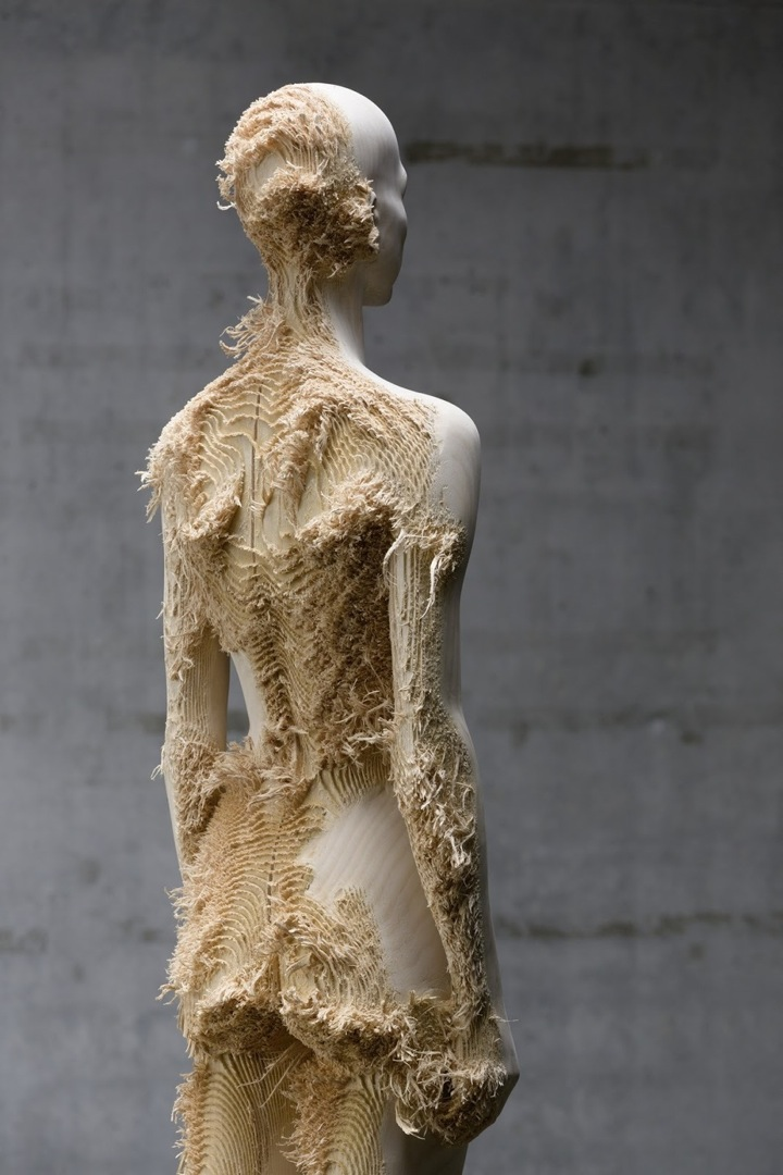 Incredible Wood Carvings by Sculptors Aron Demetz and Shan Hur: Aron_Demetz04.jpeg