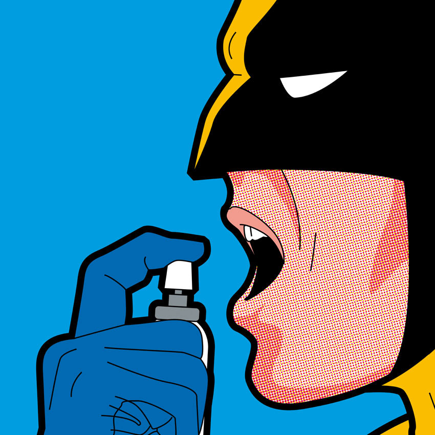 Best of 2013: Greg Guillemin's 'The Secret Life of Superheroes': 510563df87816d3180390be197325317.jpg