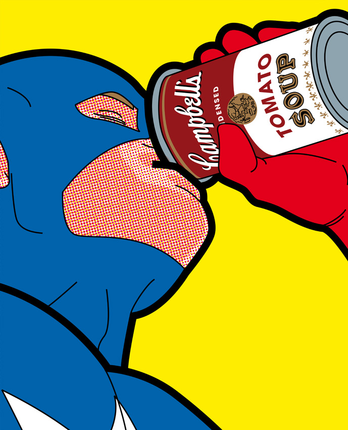 Best of 2013: Greg Guillemin's 'The Secret Life of Superheroes': 7769348cffb1828d1c1dde56dfba415c.jpg