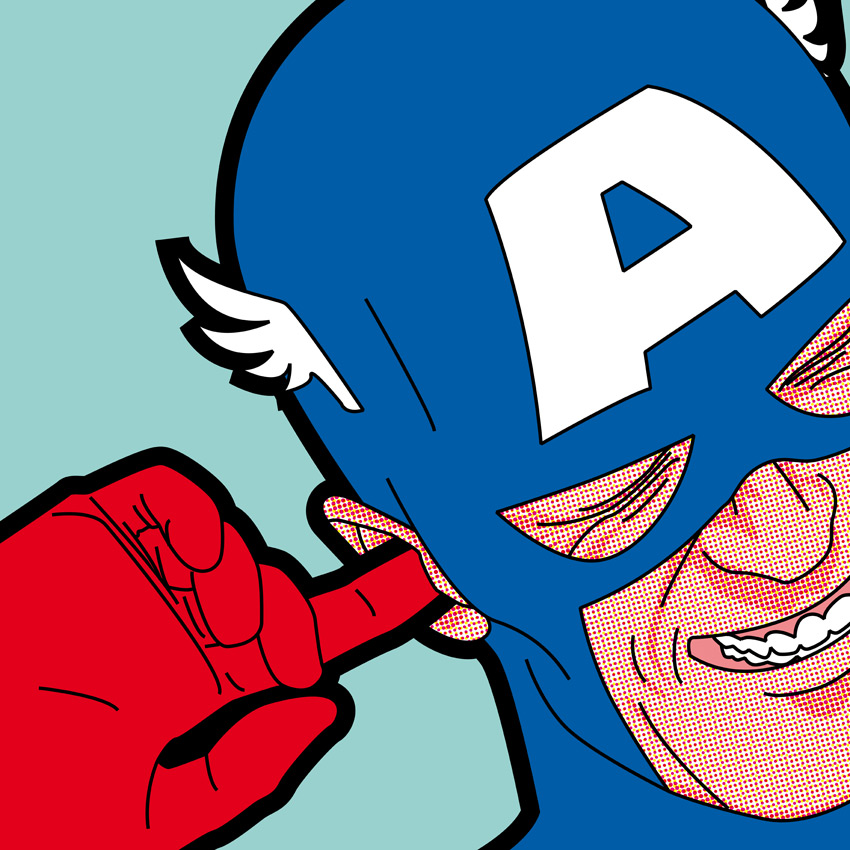 Best of 2013: Greg Guillemin's 'The Secret Life of Superheroes': 9424ce361207ff5eccadf73988b8804f.jpg