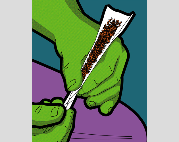 Best of 2013: Greg Guillemin's 'The Secret Life of Superheroes': The-Secret-Life-Of-Superheroes-Series-Part-2-1.jpg
