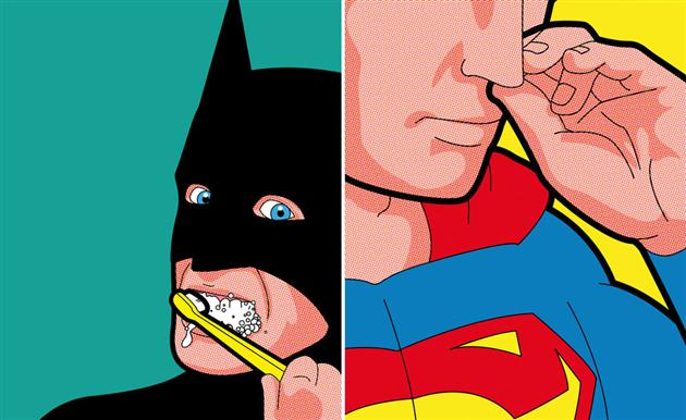 Best of 2013: Greg Guillemin's 'The Secret Life of Superheroes': The-Secret-Life-of-Superheroes-by-Greg-Guillemin-2.jpg