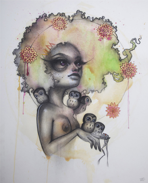Tatiana Suarez and Her Surreal Sirens: tati6.jpg