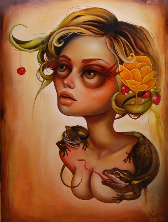 Tatiana Suarez and Her Surreal Sirens: tati8.jpg
