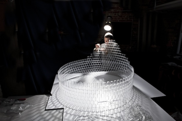 A Chandelier Made From 8,000 Clear LEGO Bricks: Hand-Crafted-Chandelier-Made-With-8000-Clear-LEGO-Pieces-2.jpg