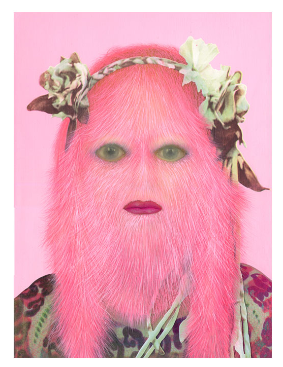 The Freakish, Hairy Paintings of Erik Sandberg: Screen shot 2013-04-15 at 7.52.02 AM.png