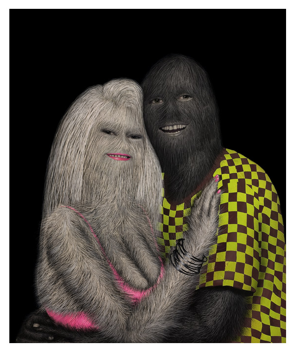 The Freakish, Hairy Paintings of Erik Sandberg: Screen shot 2013-04-15 at 7.52.07 AM.png