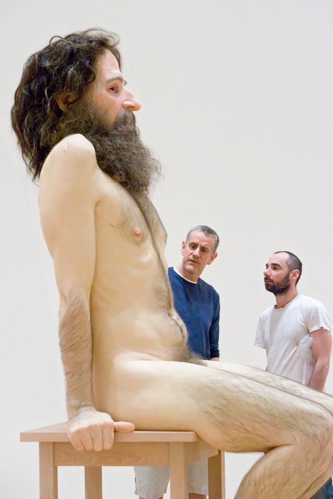 Ron Mueck @ Fondation Cartier Pour L'art Contemporain, Paris: 11-ron-mueck-solo-exhibition-at-fondation-cartier-pour-lart-contemporain.jpg