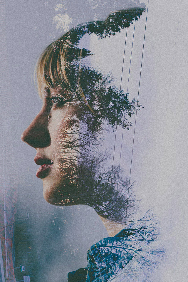 Multiple Exposure Portraits by Sarah K. Byrne: double-7.jpg