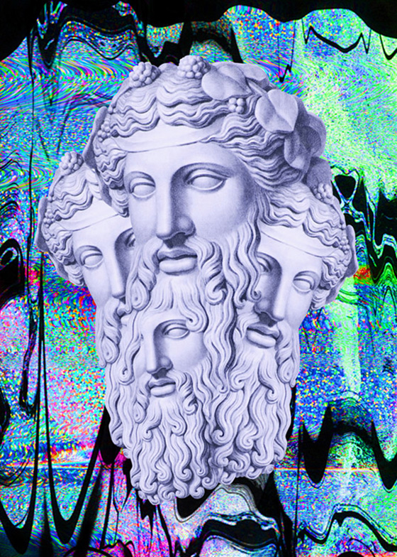 Nick Thomm's Trippy Illustrations: Spirit_Bacchus.jpg