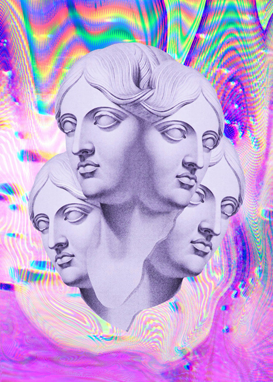 Nick Thomm's Trippy Illustrations: Spirit_Venus.jpg