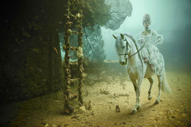 Andreas Franke's 'The Sinking World' @ An Underwater Gallery: 24.27 N, 81.44 W: Andreas-Franke1.jpg