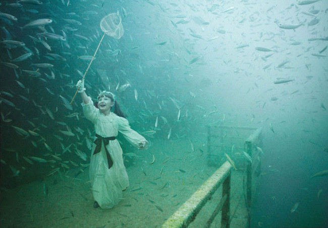 Andreas Franke's 'The Sinking World' @ An Underwater Gallery: 24.27 N, 81.44 W: Andreas-Franke6-650x453.jpg