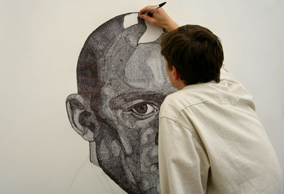 Jacob Everett's Ballpoint Portraits: Artist-and-Illustrator-Jacob-Everett.jpg
