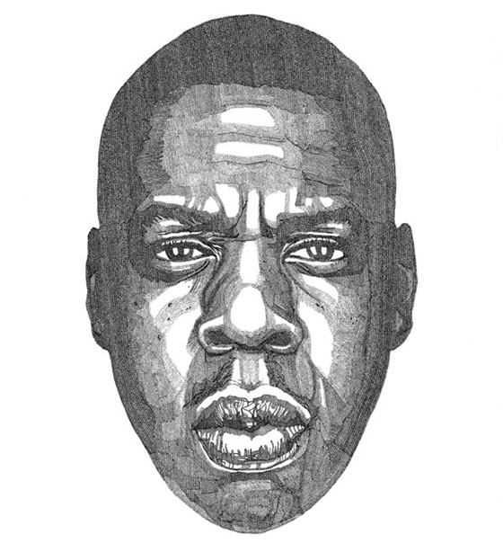 Jacob Everett's Ballpoint Portraits: JAY-Z-Drawing-by.jpg