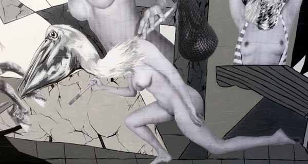 "Picasso's ""Guernica"" used as inspiration for a new wall from VinZ : juxtapoz_vinz5.jpg"