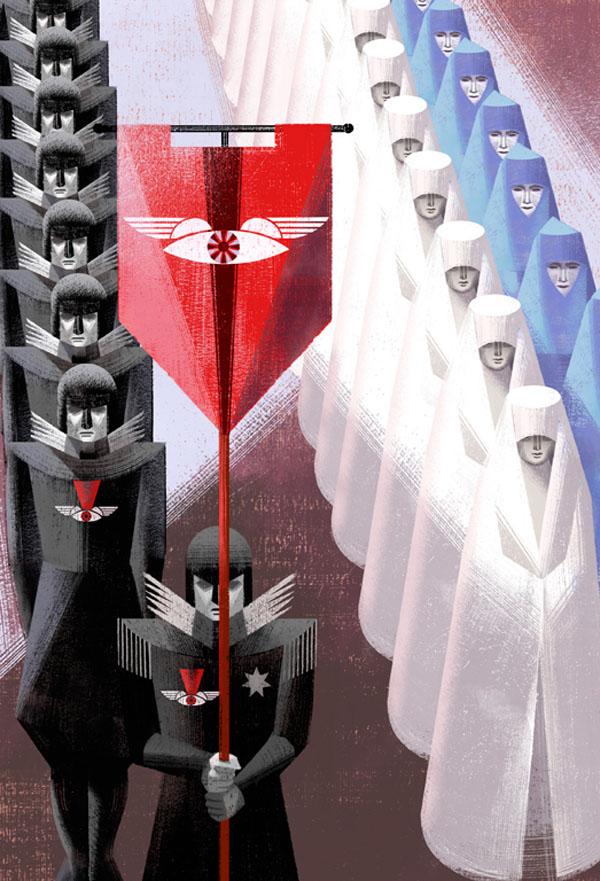 Book Illustrations by the Balbusso Sisters: Ceremony-by-Balbusso-Sisters-for-The-Handmaids-Tale-by-Margaret-Atwood.jpg