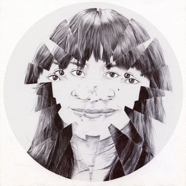 Ballpoint Illustrations by Chamo San: Lucisse-Ballpoint-pen-drawing-by-Chamo-San.jpg