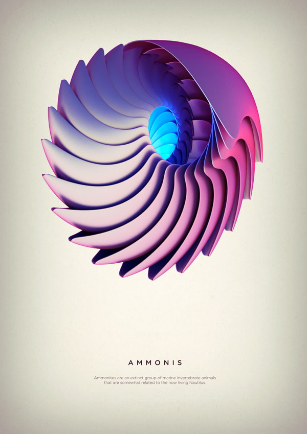 Revolved Forms by Crtomir Just: 03-Ammonis-Digital-Art-by-Črtomir-Just-253433.jpg