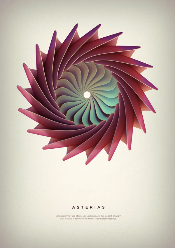 Revolved Forms by Crtomir Just: 04-Asterias-Digital-Art-by-Črtomir-Just-35434.jpg