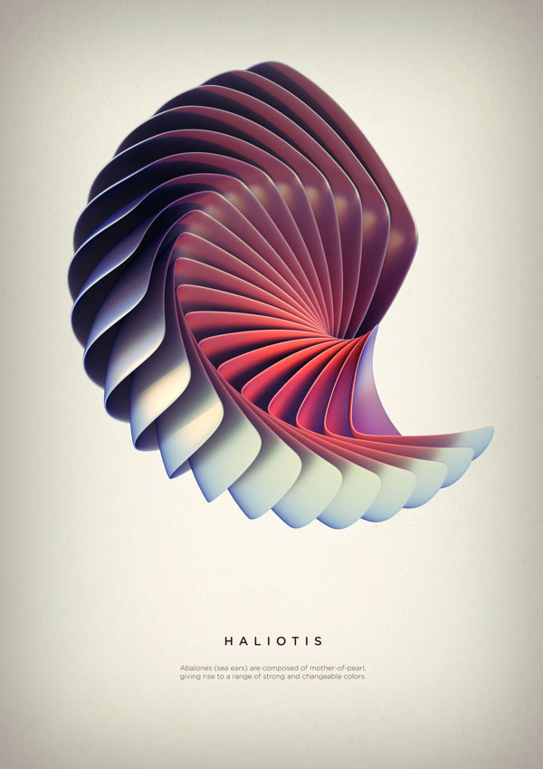 Revolved Forms by Crtomir Just: 05-Haliotis-Digital-Art-by-Črtomir-Just-345345.jpg