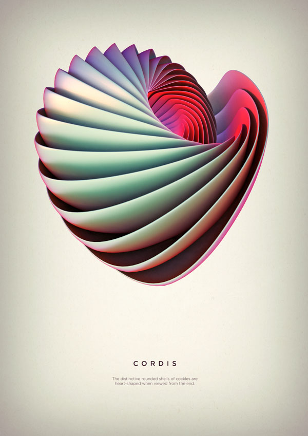 Revolved Forms by Crtomir Just: 06-Cordis-Digital-Art-by-Črtomir-Just-345345.jpg