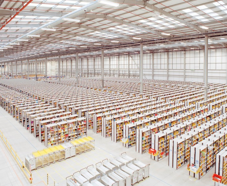 Photographs of an Amazon Fulfillment Warehouse by Ben Roberts: br_amazon03-e1360777917813.jpg