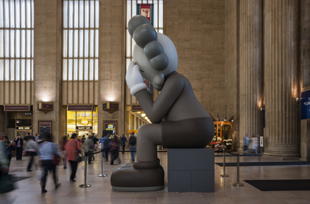 KAWS: Companion (Passing Through) @ Philadelphia's 30th Street Station: Companion-2_440px.jpg
