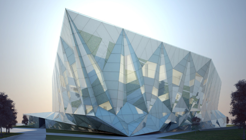 "Preston Scott Cohen's ""DaTong Library"" is Under Construction: pscdatong00.jpg"