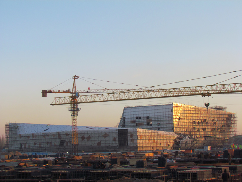 "Preston Scott Cohen's ""DaTong Library"" is Under Construction: pscdatong07.jpg"