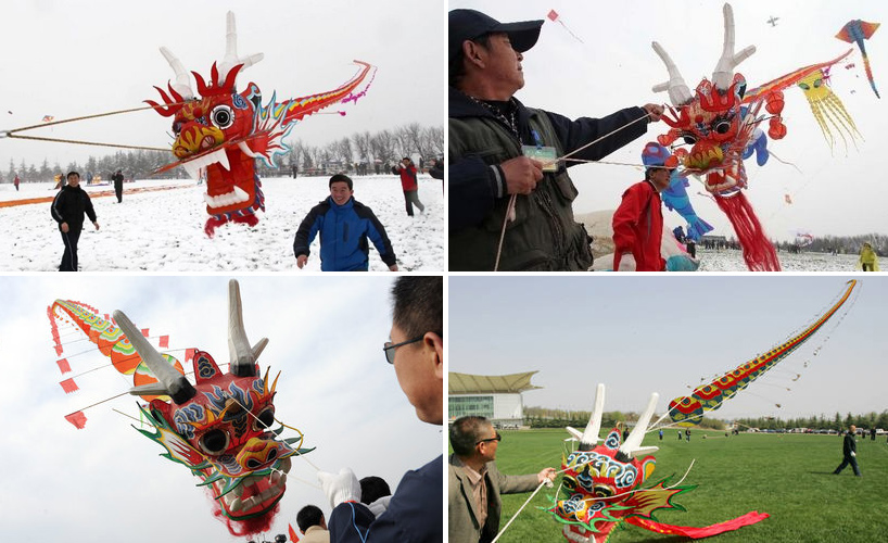The 30th Annual Weifang International Kite Festival: dragonkite.jpg