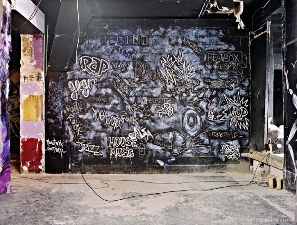 Street Artists Given Run of Condemned Les Bains Nightclub: Jay_Bains-douches-boite-credit-Jerome-Coton-credit_galerie_Magda_Danysz-10-600x454.jpg