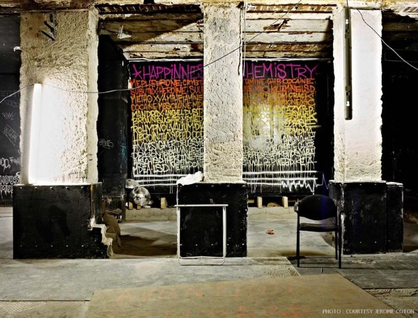 Street Artists Given Run of Condemned Les Bains Nightclub: Nasty_Bains-douches-boite-credit-Jerome-Coton-credit_galerie_Magda_Danysz-14-600x456.jpg