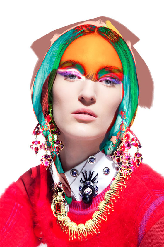 Pierre Debusschere's Kaleidoscopic Photos: Fashion-Portrait-and-Art-Direction-by-Pierre-Debusschere.jpg