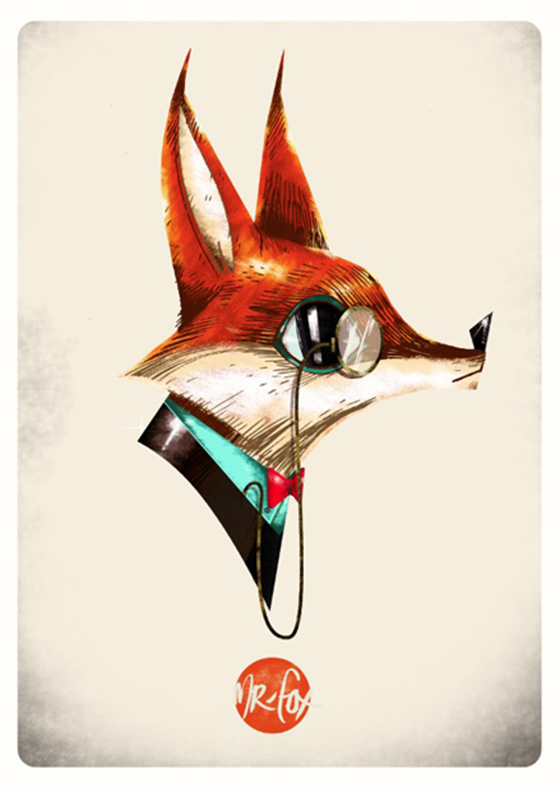 Dynamic Characters by Guy McKinley : Mr Fox.jpg