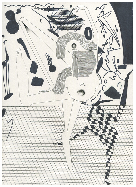 "Music Video: Wild Nothing ""A Dancing Shell"" featuring works by Eric Shaw: Screen shot 2013-04-23 at 10.37.27 AM.png"